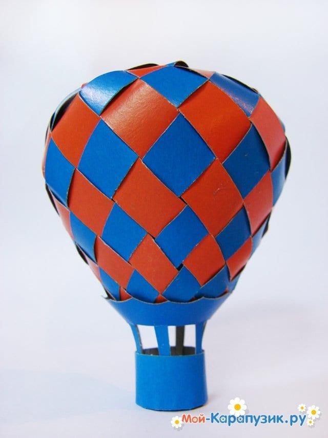 Изготовление воздушного шара из бумаги - фото 33