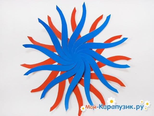 Изготовление воздушного шара из бумаги - фото 5