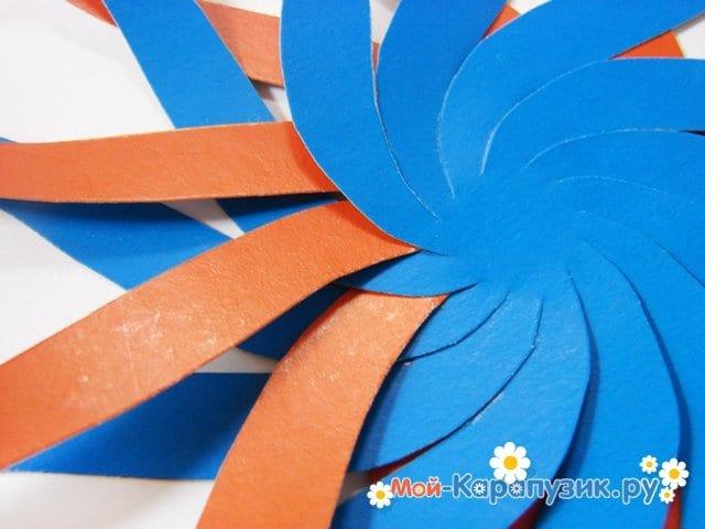 Изготовление воздушного шара из бумаги - фото 6