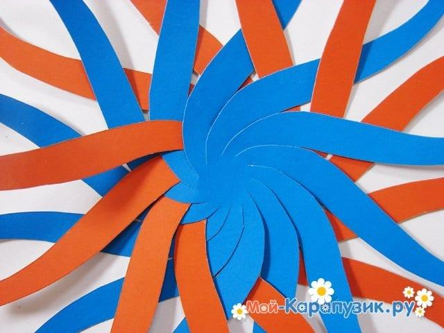 Изготовление воздушного шара из бумаги - фото 7