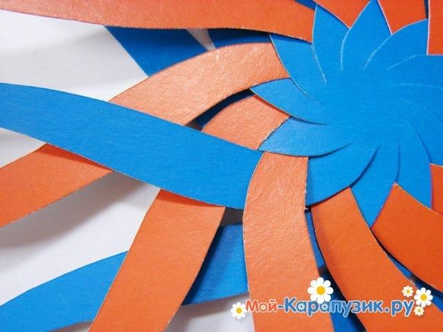 Изготовление воздушного шара из бумаги - фото 9