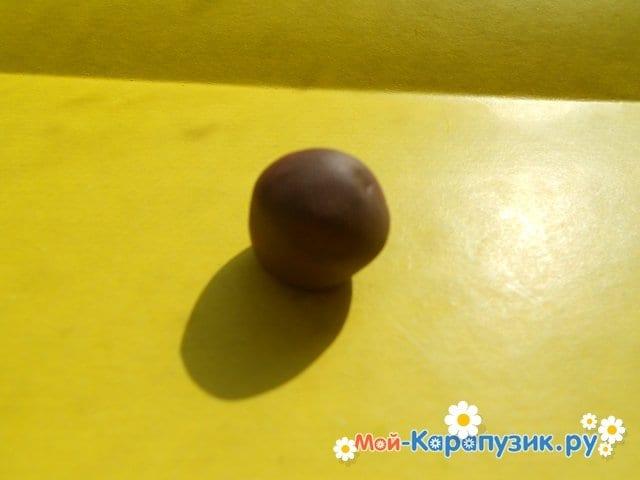 Лепка черепахи из пластилина - фото 4