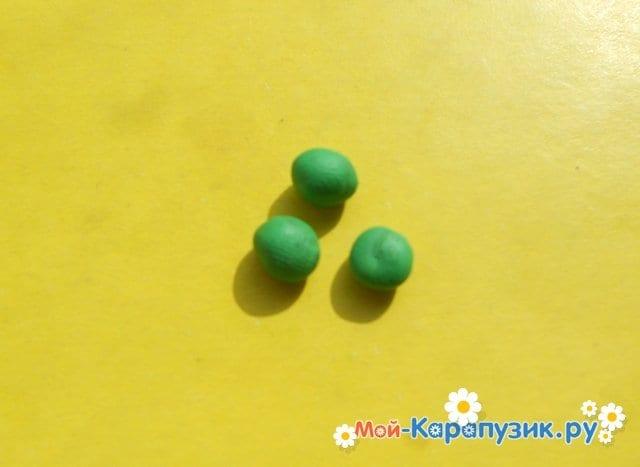 Лепка черепахи из пластилина - фото 5
