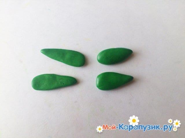 Лепка кузнечика из пластилина - фото 6
