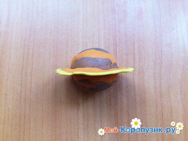 Лепка планет из пластилина - фото 11