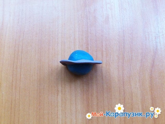 Лепка планет из пластилина - фото 12