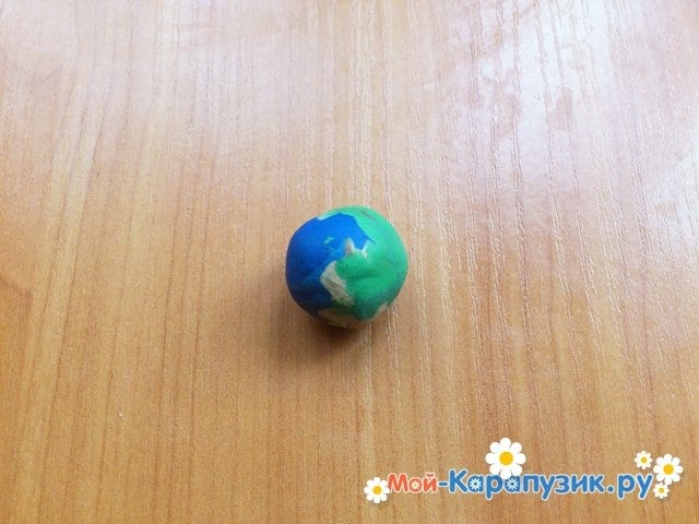 Лепка планет из пластилина - фото 8