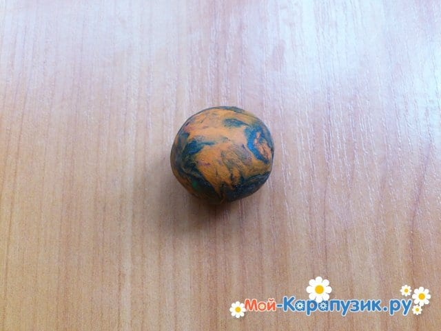 Лепка планет из пластилина - фото 9