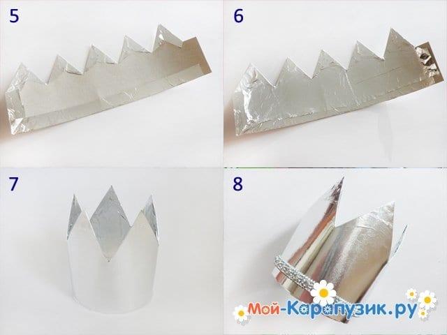 Изготовление бумажной короны - фото 2