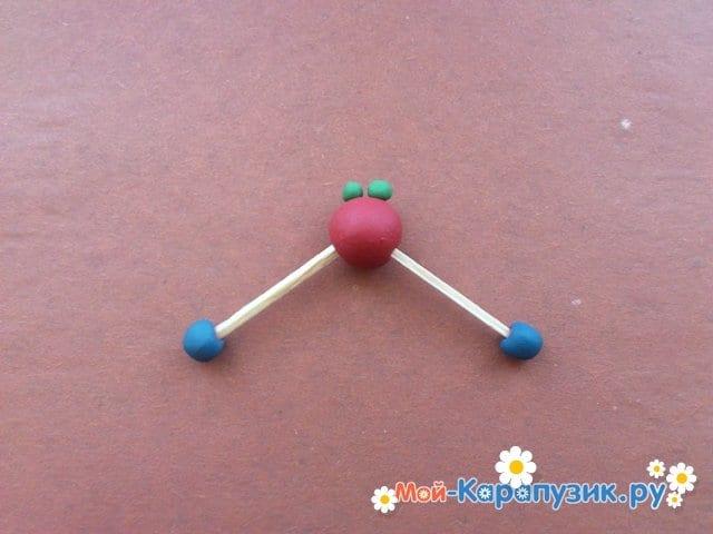 Лепка молекул из пластилина - фото 10