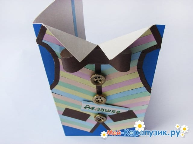 Оригами дедушке на день рождения своими руками 9