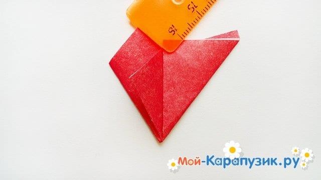 Изготовление открытки-пилотки на 9 Мая - фото 12