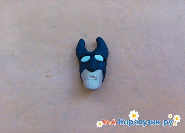 Лепка Бэтмена из пластилина - фото 4