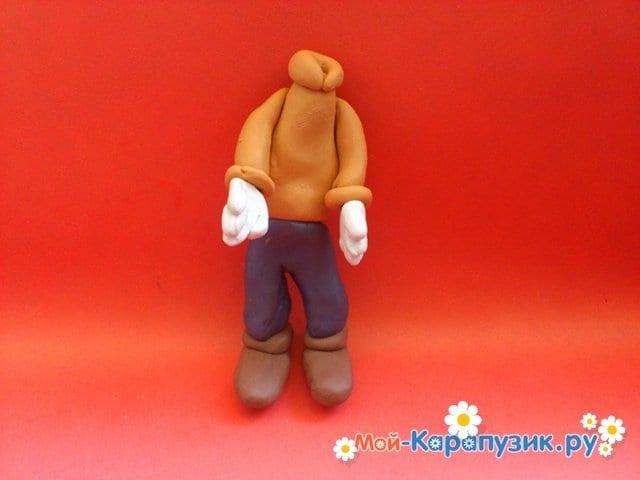 Лепка Гуффи из пластилина - фото 11