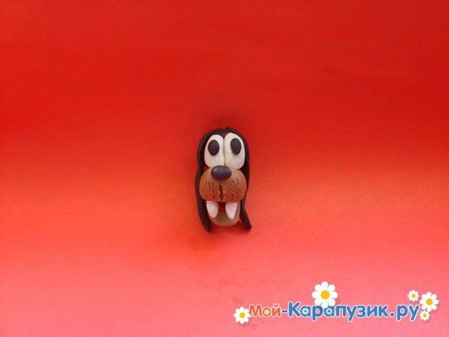 Лепка Гуффи из пластилина - фото 6