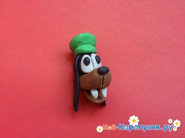 Лепка Гуффи из пластилина - фото 7