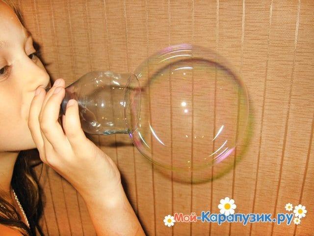 Как быстро дома сделать мыльные пузыри 293
