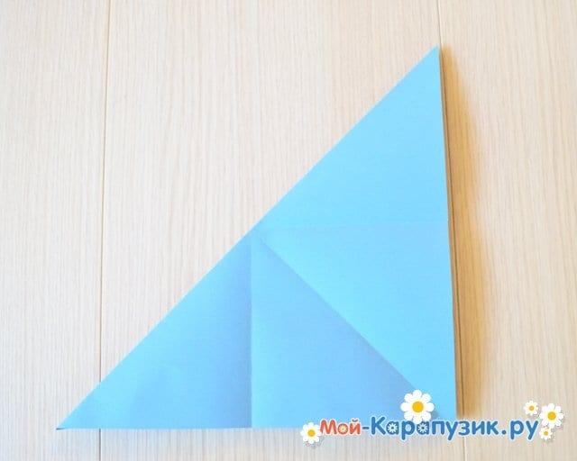 Поделка журавля из бумаги - фото 5