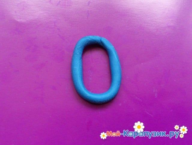 Лепка букв из пластилина - фото 10