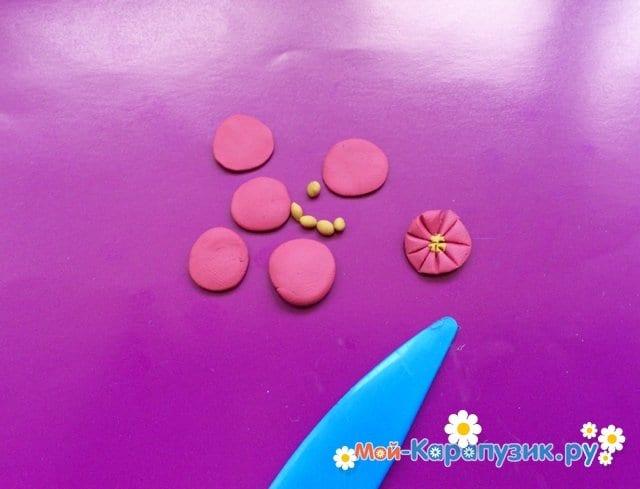 Лепка букв из пластилина - фото 4