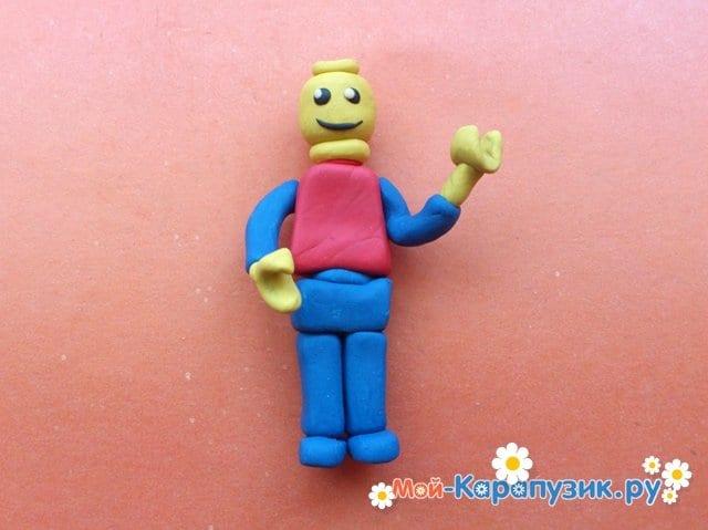 Лепка лего из пластилина - фото 10
