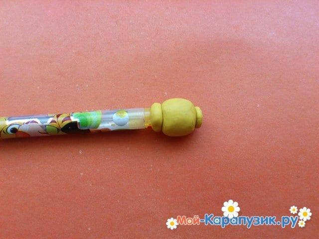 Лепка лего из пластилина - фото 3