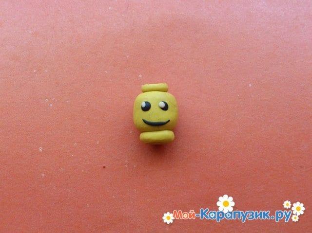 Лепка лего из пластилина - фото 4
