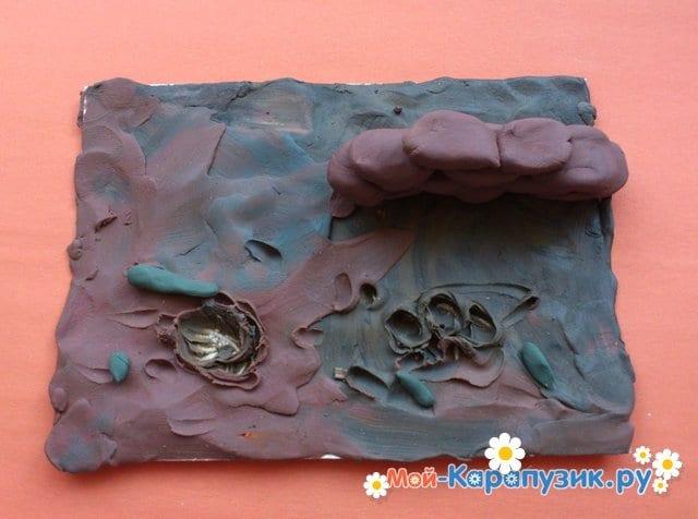 Лепка войны из пластилина - фото 3