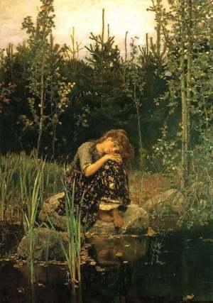 Картина В.М. Васнецова «Аленушка»