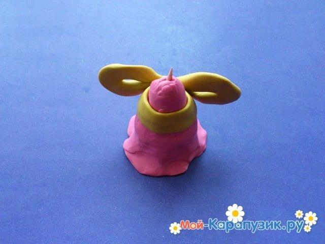 Лепка куклы из пластилина - фото 3