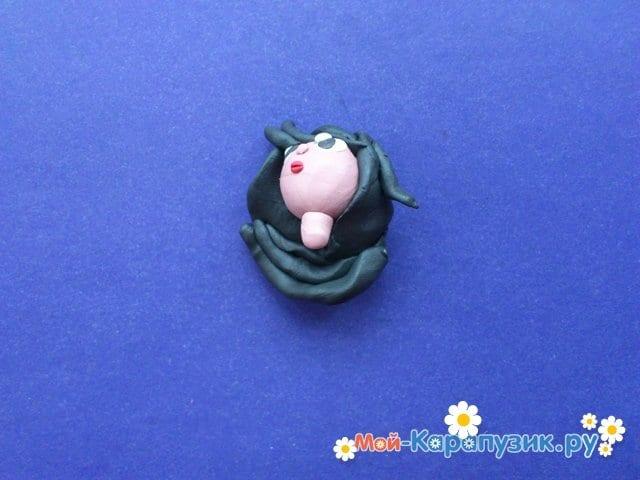 Лепка куклы из пластилина - фото 5