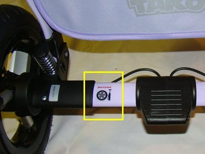 Давление в шинах детской коляски