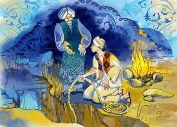 """Сказка """"Аладдин и волшебная лампа"""""""