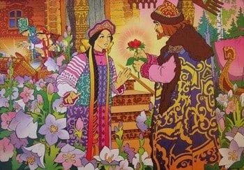 """Сказка """"Аленький цветочек"""""""