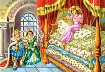 """Сказка """"Принцесса на горошине"""""""