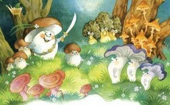 """Сказка """"Война грибов"""""""