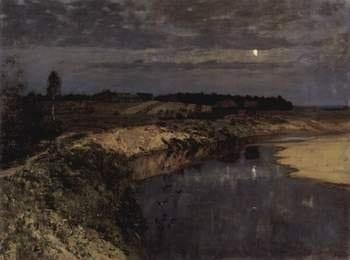 Картина И. И. Левитана «Тишина»