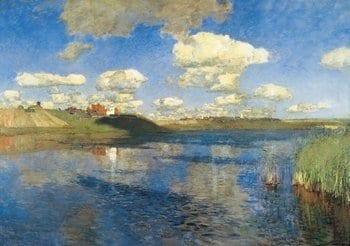 Картина И. И. Левитана «Озеро»